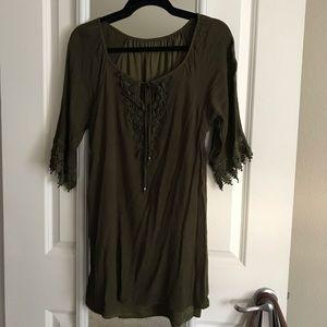 Dresses & Skirts - BOGO FREE! Worn Once: Embellished Green Dress